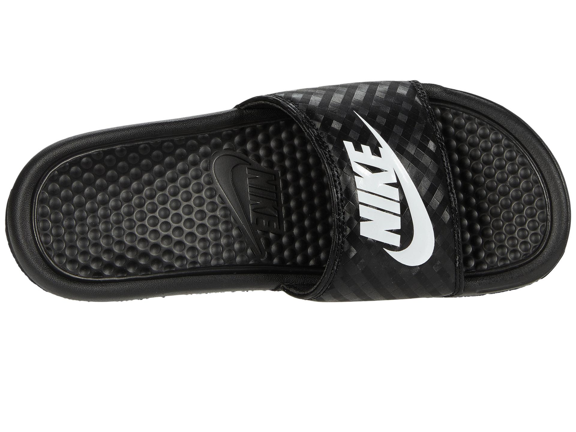 Popular Buy Nike Benassi JDI  Womens Slides  BlueBlack  SlashSport
