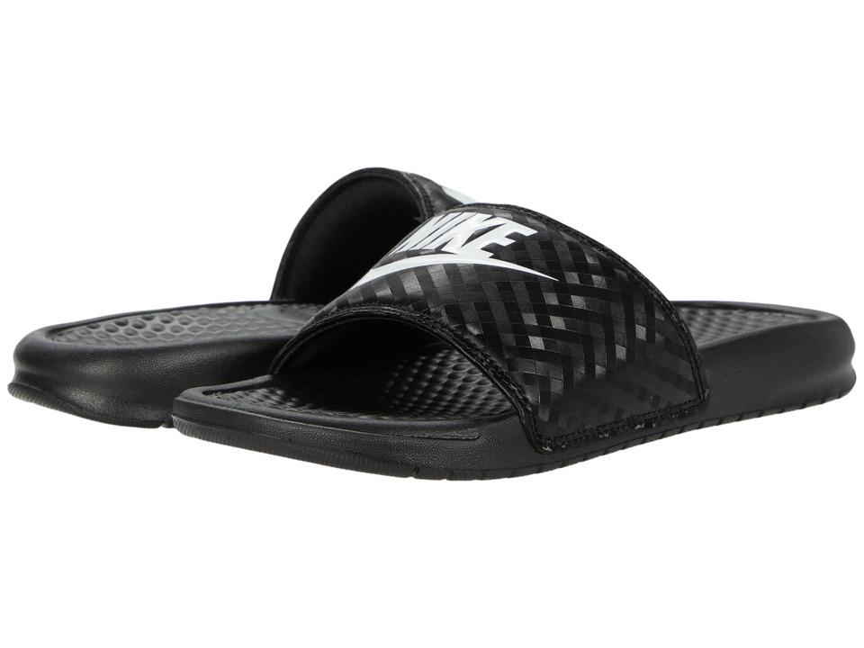 Nike Benassi JDI Slide (Black/White) Sandals