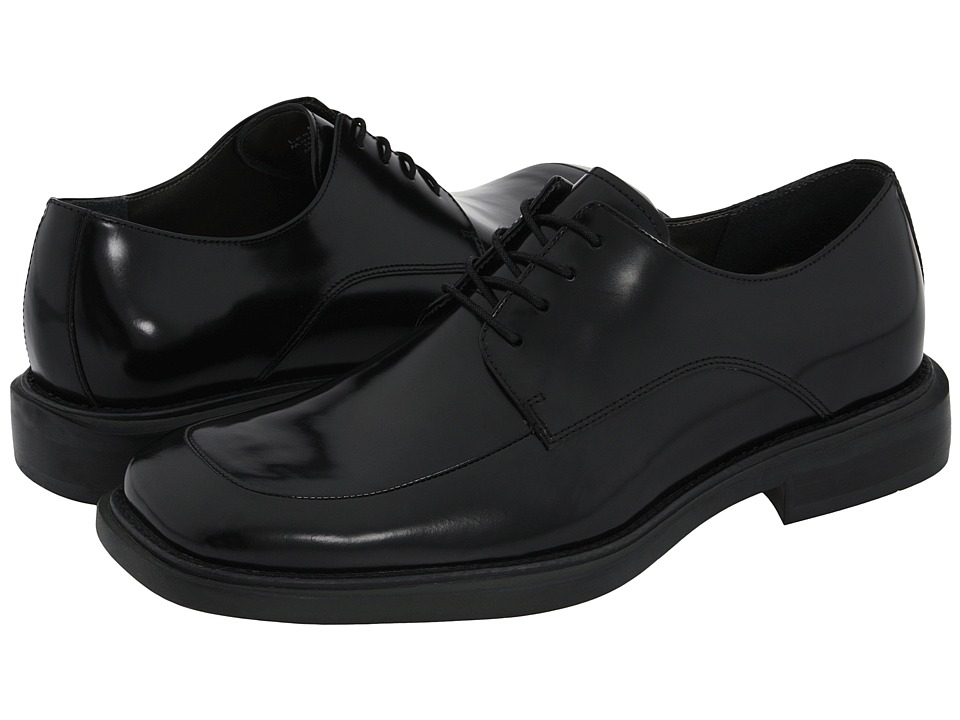 Kenneth Cole New York - Merge (Black Leather) Mens Shoes