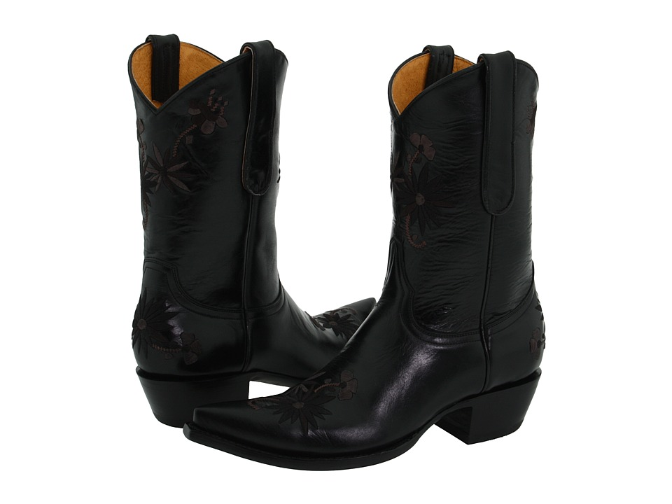 Old Gringo Yippie Ki Yay Phoenix (Black) Cowboy Boots