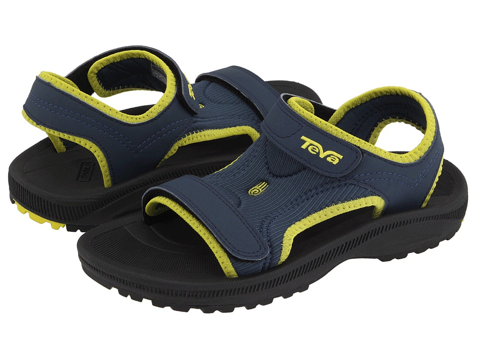 Teva Kids Psyclone 2 (Toddler/Little Kid) (Navy) Boys Shoes