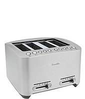 Breville - BTA840XL Die-Cast 4-Slice Smart Toaster™