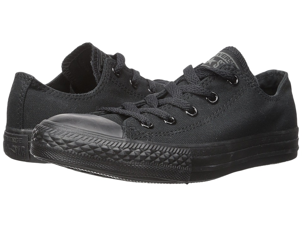Converse Kids Chuck Taylor All Star Core Ox (Infant/Toddler) (Monochrome Black) Kids Shoes