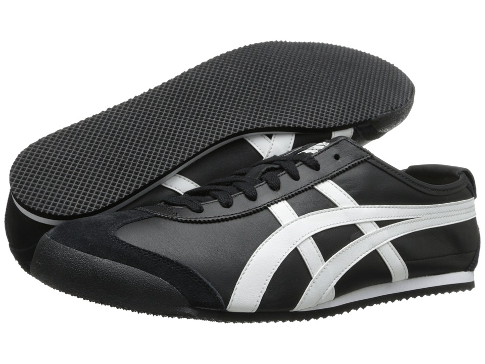 Onitsuka Tiger by Asics - Mexico 66(r) (Black/White) Shoes