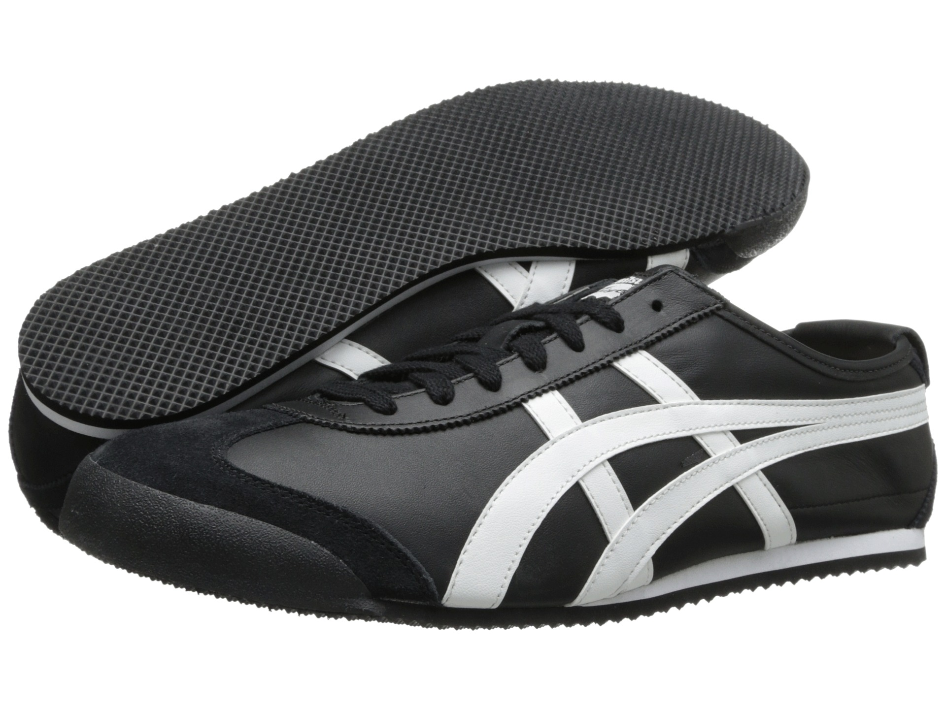onitsuka tiger black and white different styles