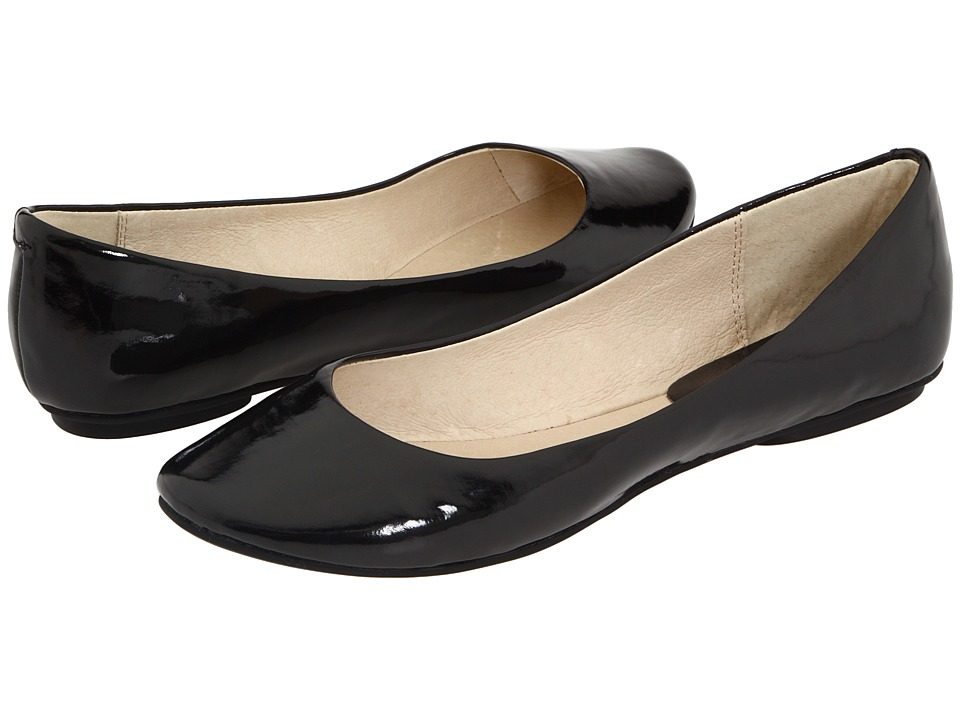 Kenneth Cole Reaction Slip On By (Black Patent) Flats