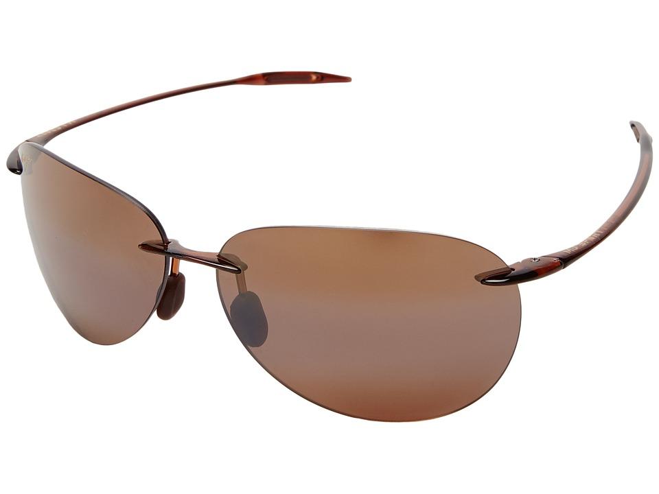 Maui Jim - Sugar Beach (Rootbeer/HCL Bronze Lens) Sport Sunglasses