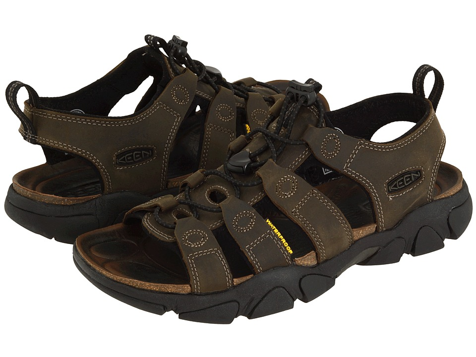 Keen Daytona (Black Olive) Men's Sandals