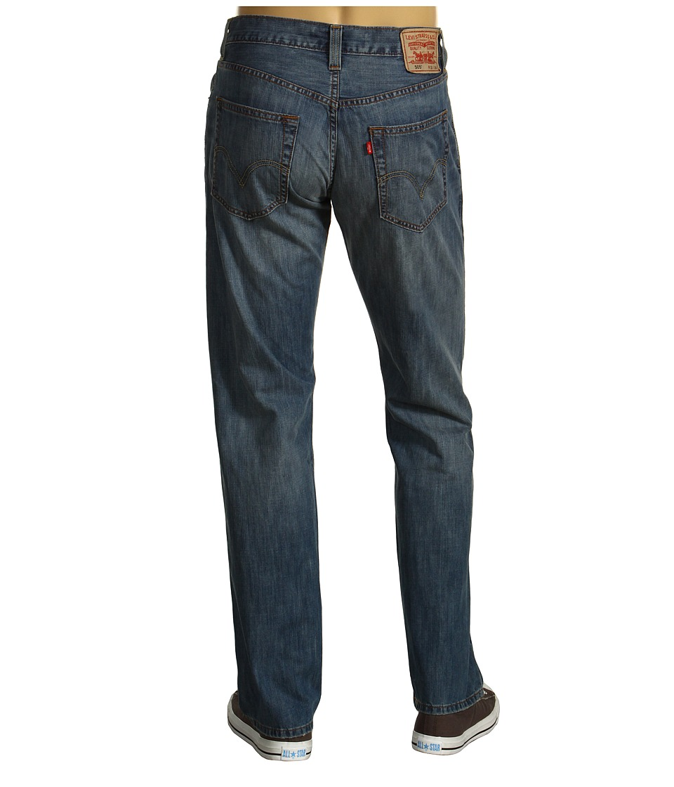 Levis(r) Mens - 505(r) Regular/Straight Fit - Advanced Core (Medium Chipped) Mens Jeans