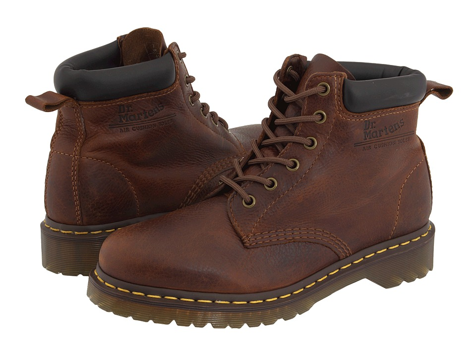Dr. Martens - Saxon 939 6-Eyelet Padded Collar Boot (Tan Harvest) Men