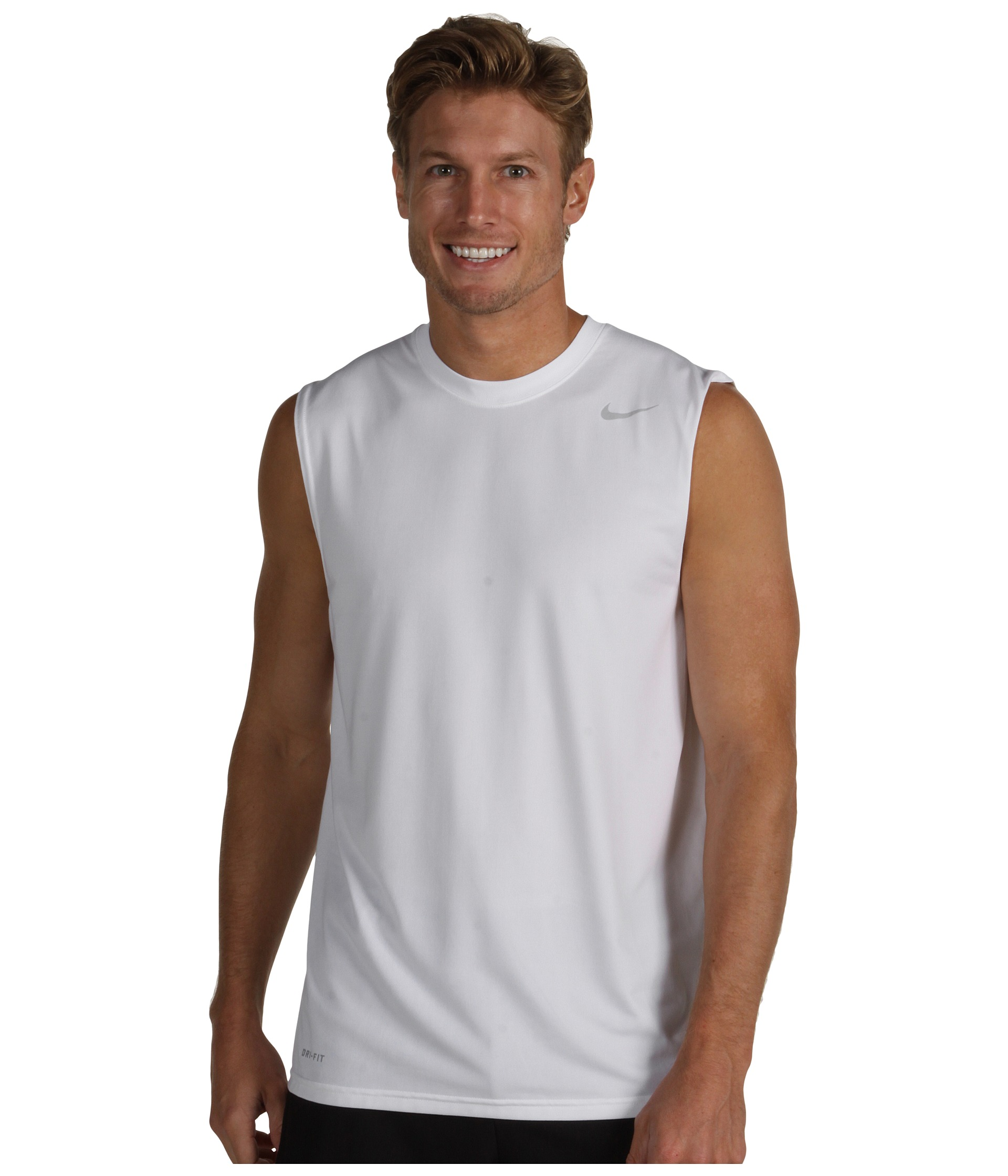 Nike dri fit legend sleeveless training shirt zappos for Buy dri fit shirts