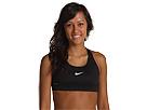 Nike Pro Victory Compression Sports Bra (Black/Black/(White)) Women's Bra