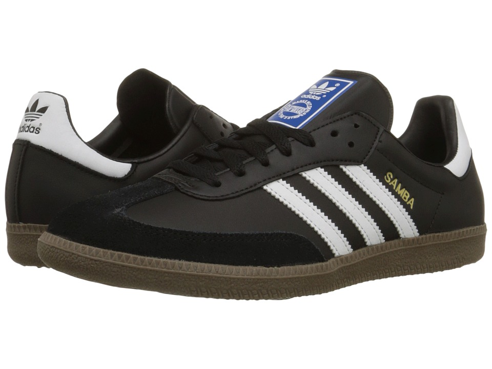 Samba Leather (Black/White) Classic Shoes