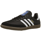 adidas Originals - Samba Leather (Black/White) -