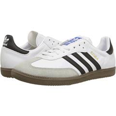 Samba Leather (White/Black) Classic Shoes
