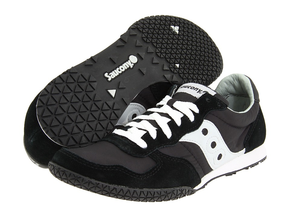 Saucony Originals - Bullet (Black/Silver) Mens Classic Shoes