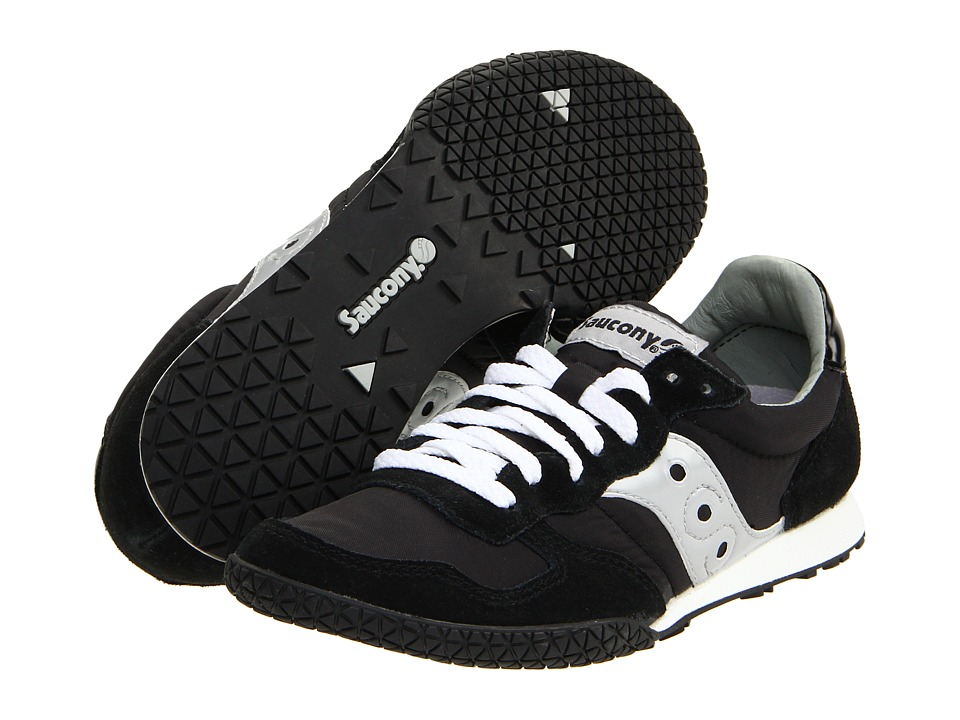 Saucony Originals Bullet (Black/Silver) Women's