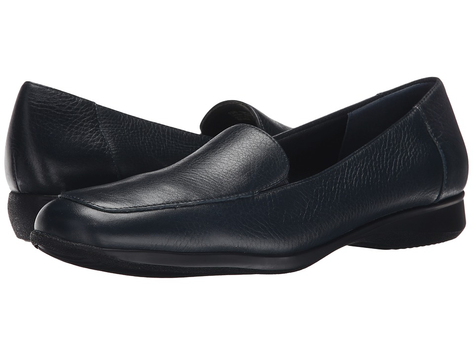 Trotters Jenn (Navy Soft Tumbled) Slip-On Shoes