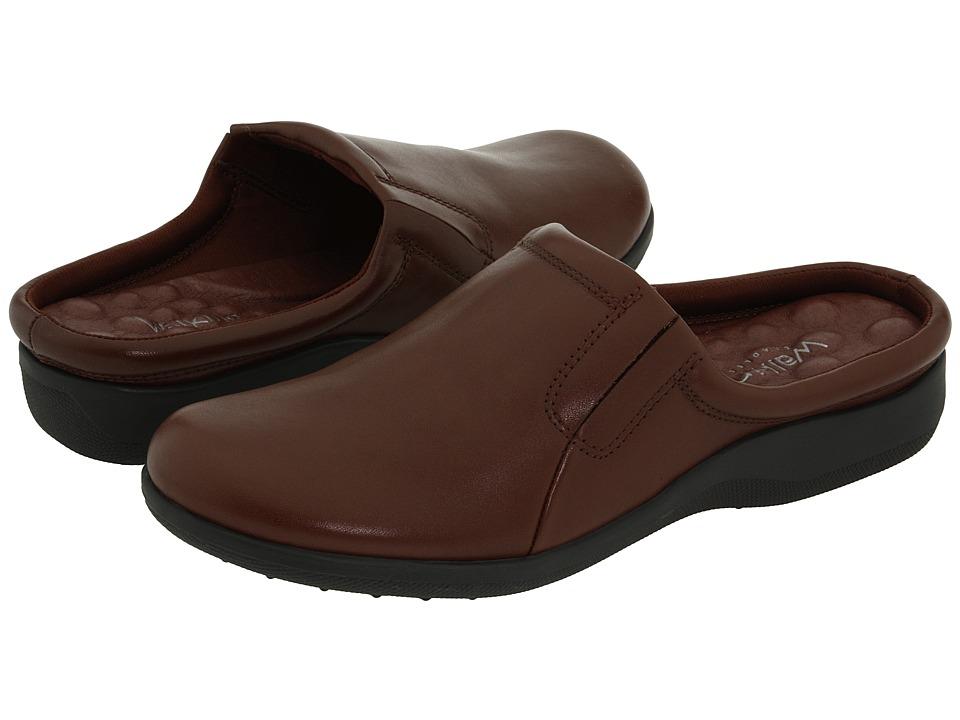 Walking Cradles Adobe Tobacco Leather Womens Clog/Mule Shoes