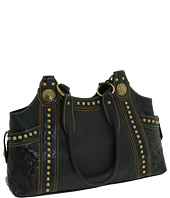 American West - Texas Gold Zip Top Tote
