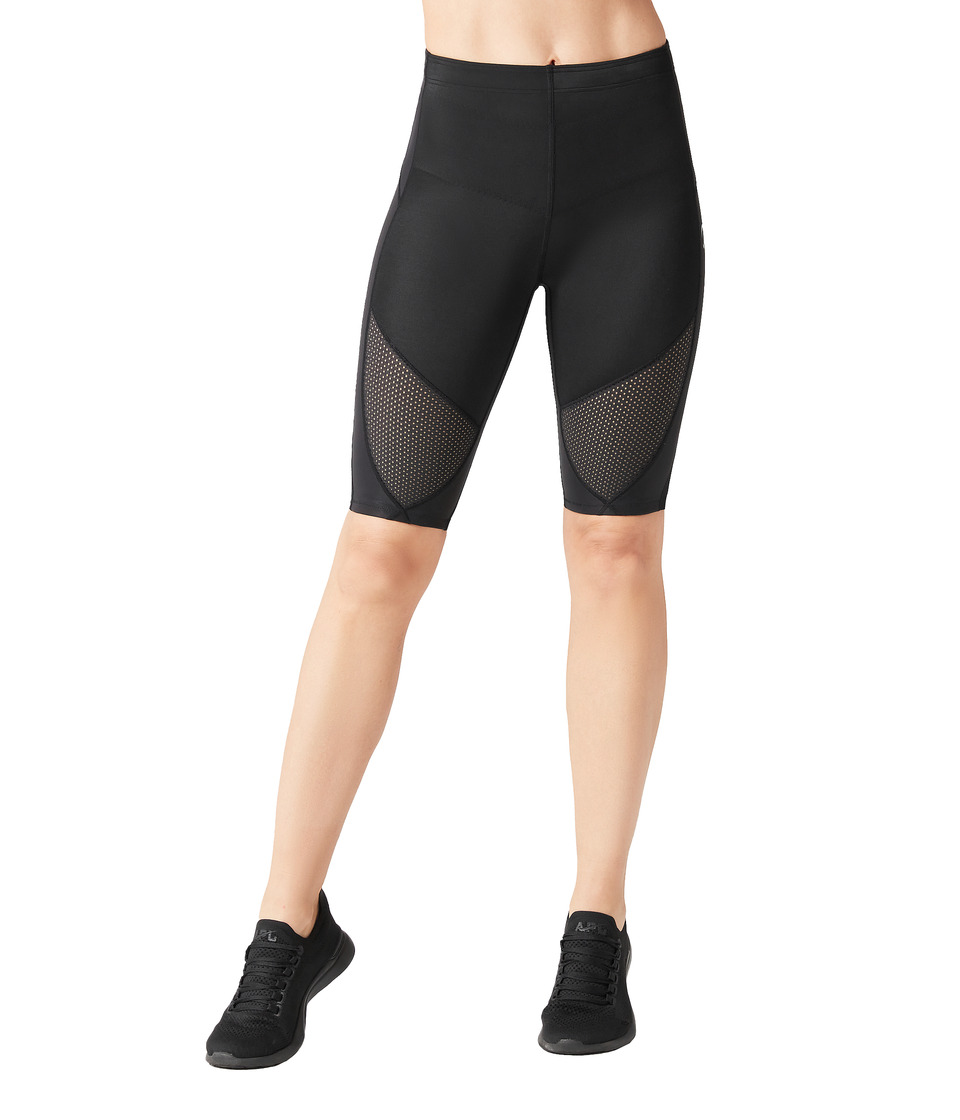 CW X Stabilyx Ventilator Short Black Womens Shorts