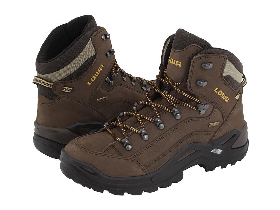 Lowa Renegade GTX(r) Mid (Sepia/Sepia) Men's Hiking Boots