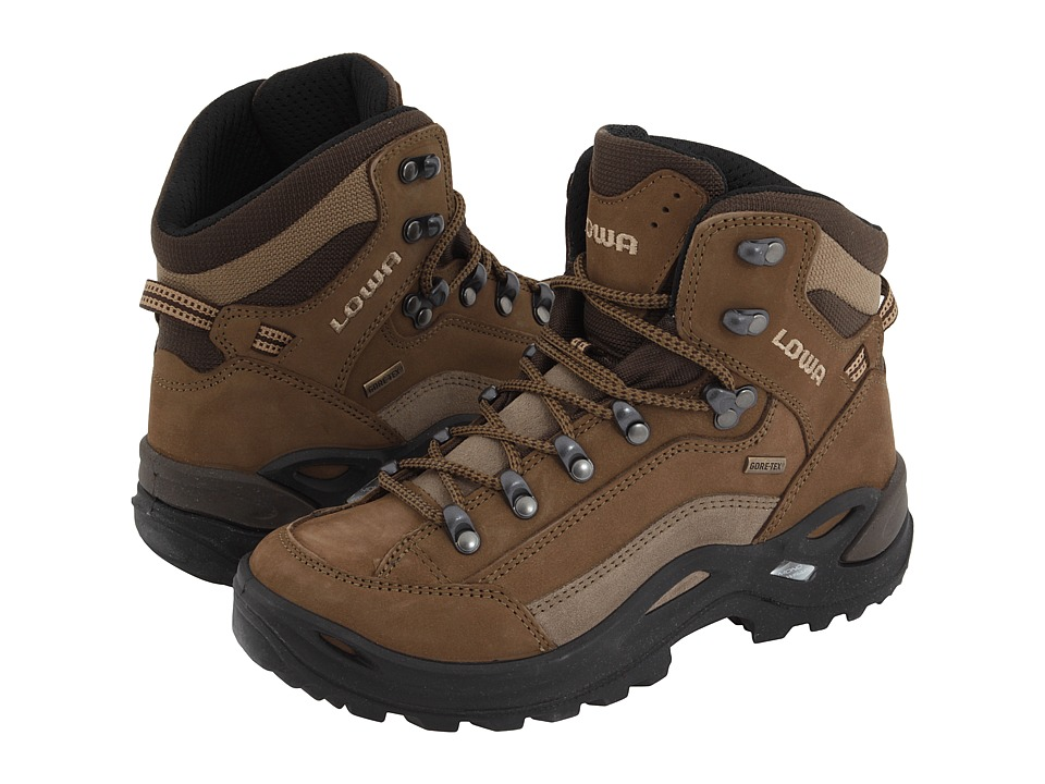 Lowa - Renegade GTX(r) Mid (Taupe/Sepia) Womens Hiking Boots