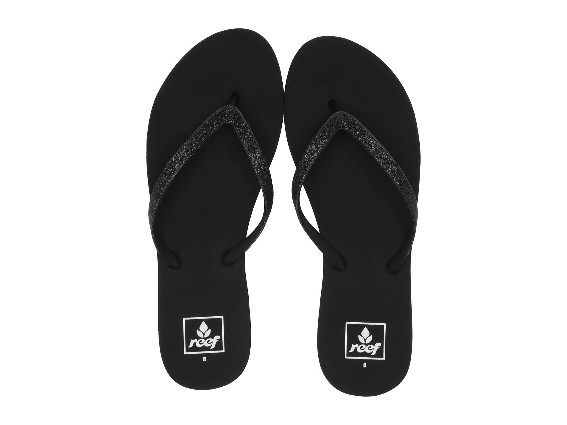 Black reef sandals - Black Reef Sandals 1