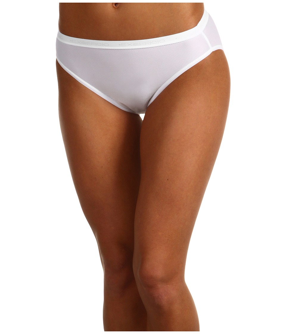 ExOfficio Give-N-Go Bikini Brief (White) Women