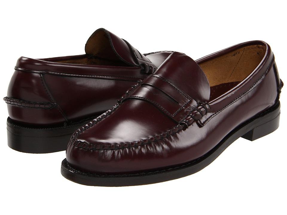 Sebago Classic Antiqued Brown Mens Shoes