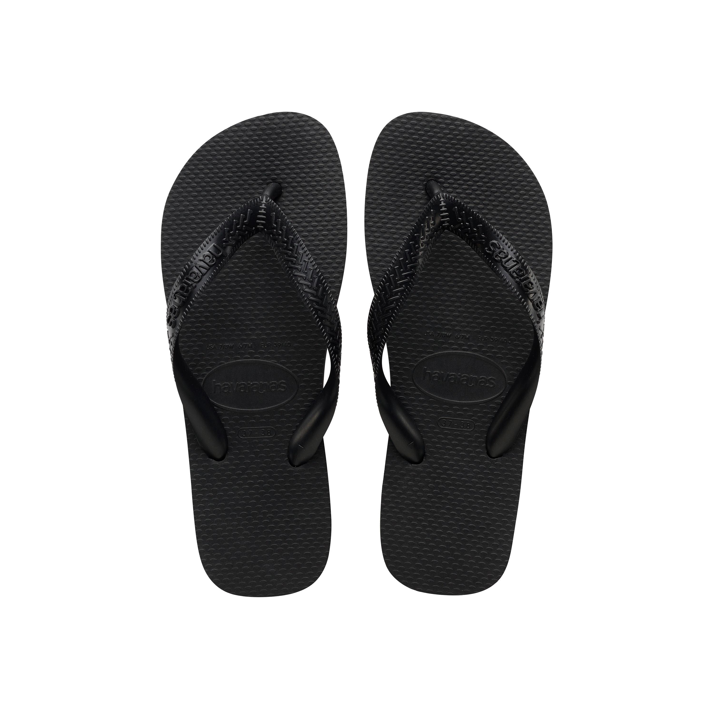 Havaianas Top Flip Flops Black Mens Sandals