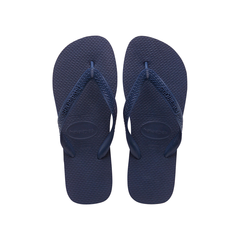 Havaianas Top Flip Flops Navy Mens Sandals