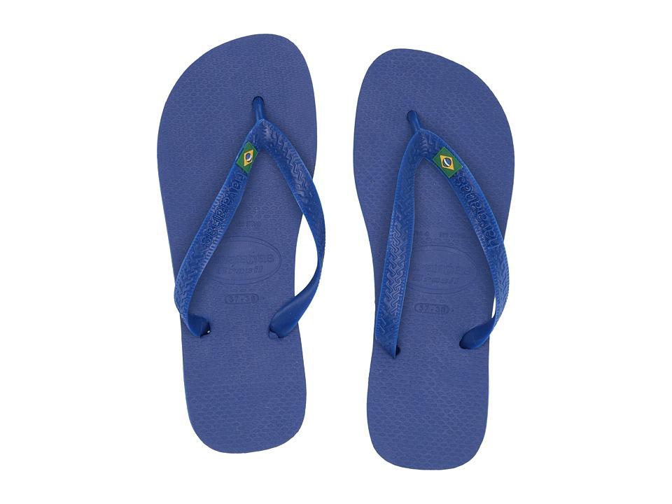 Havaianas Brazil Flip Flops (Marine Blue) Sandals