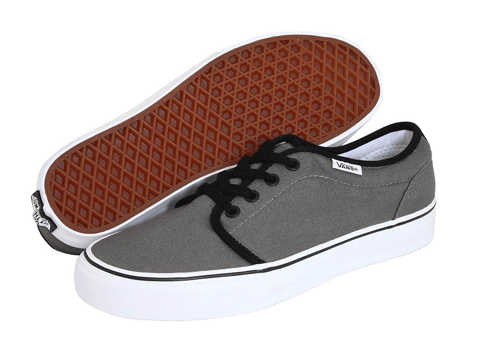 106 Vulcanized Core Classics (Pewter/Black/Metal Crush/Nappa Wax) Skate Shoes