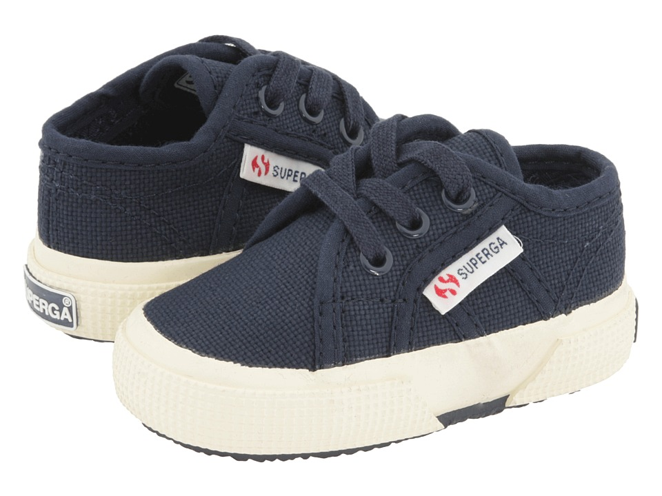Superga Kids - 2750 BEBJ Baby (Infant/Toddler) (Navy Canvas SP 11) Kids Shoes