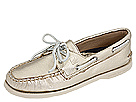 Sperry Top-Sider - A/O 2 Eye (Gold Metallic)