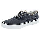 Sperry Top-Sider - Striper Laceless (Navy/Khaki Plaid) - Footwear