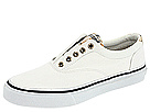 Sperry Top-Sider - Striper Laceless (White/Khaki Plaid) - Footwear