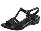 ECCO - Sensata Sandal (Black Croco Patent) -