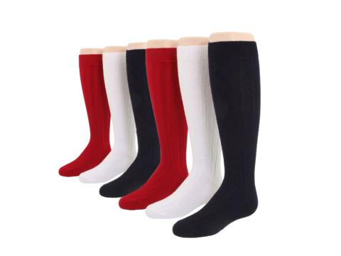 Jefferies Socks 6-Pack Acrylic Cable Knee High (Toddler/Little Kid/Big Kid)