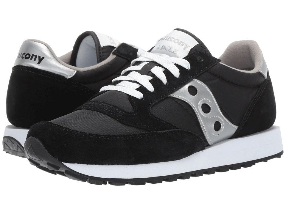 Saucony Originals - Jazz Original (Black/Silver) Mens Classic Shoes