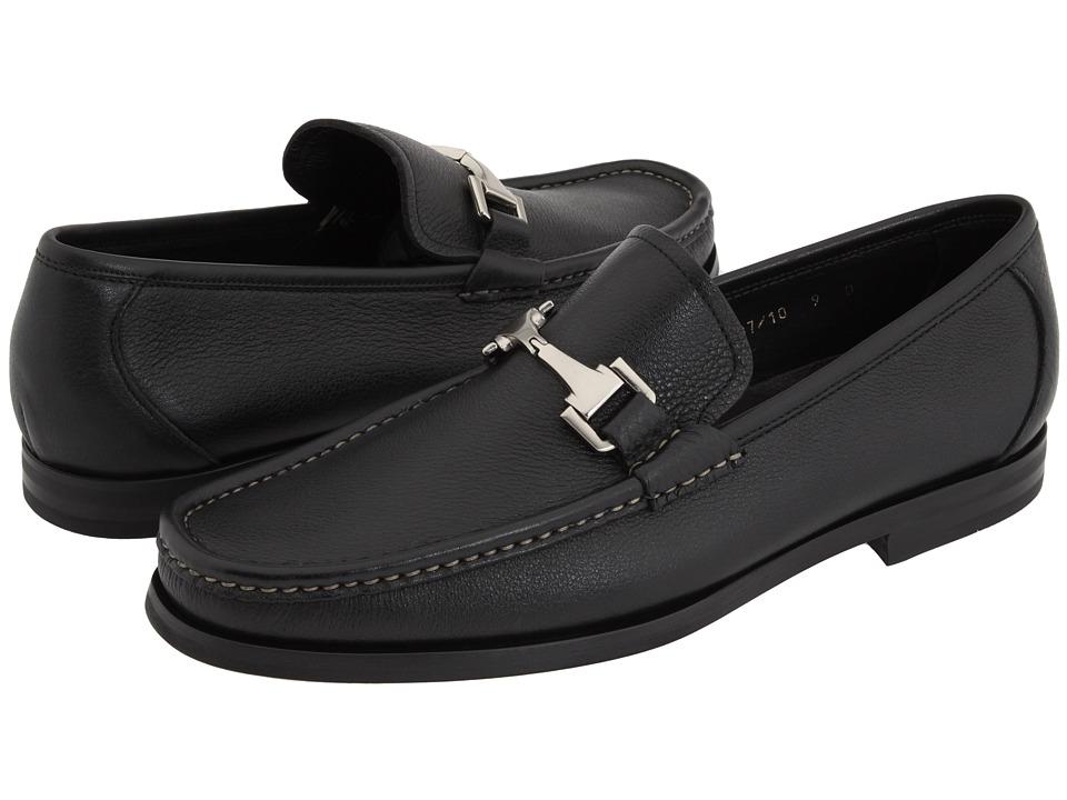 Allen Edmonds Firenze Black Calf Mens Slip on Dress Shoes