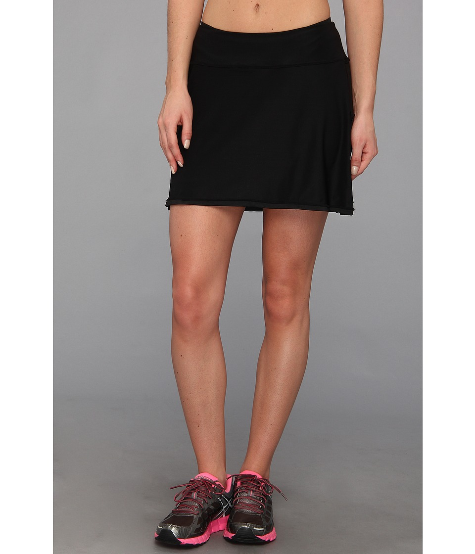 Skirt Sports - Gym Girl Ultra (Black) Womens Skort