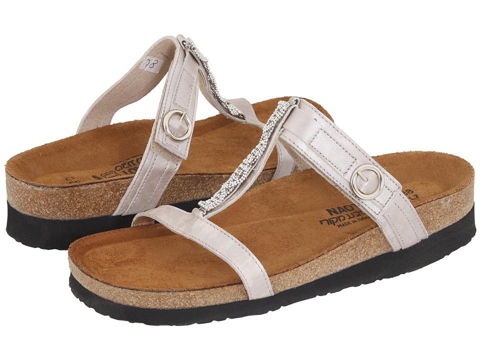 Naot Footwear Malibu (Quartz Leather) Women's Slide Shoes