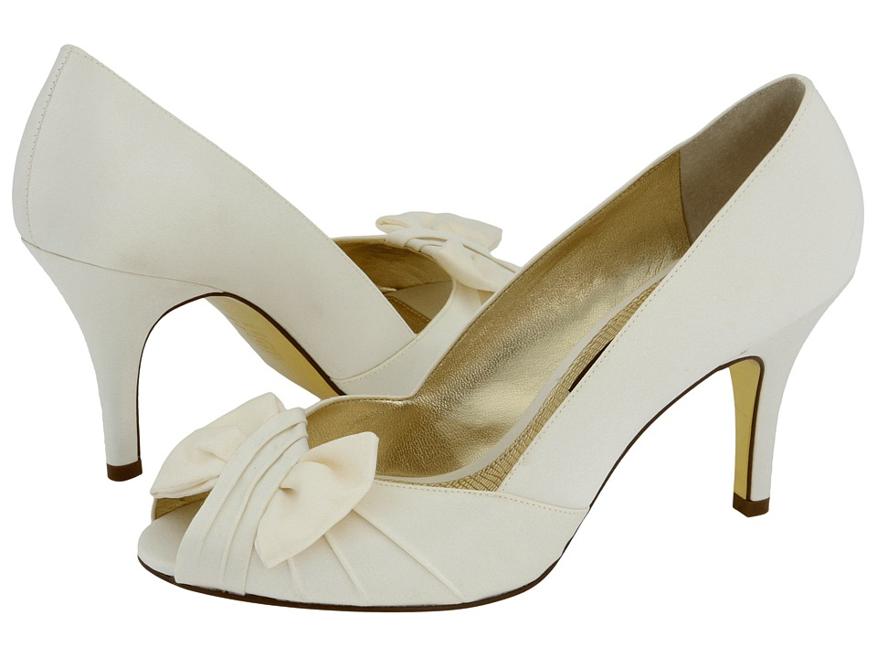 Nina Forbes (Ivory Luster Satin) Bridal Shoes