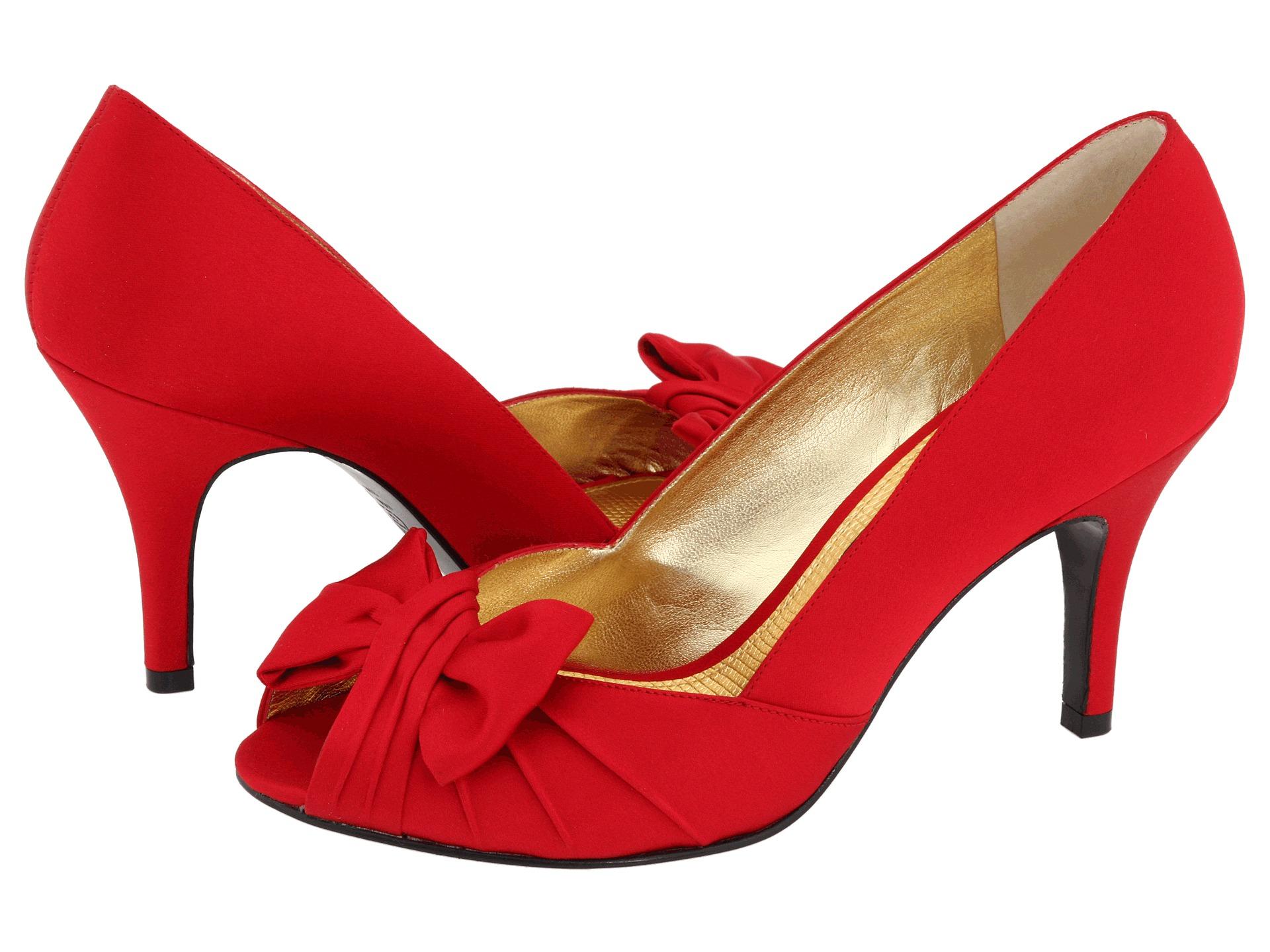 nina forbes red rouge luster satin free. Black Bedroom Furniture Sets. Home Design Ideas