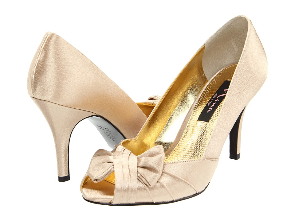 Nina - Forbes (Gold Royal Satin) Women