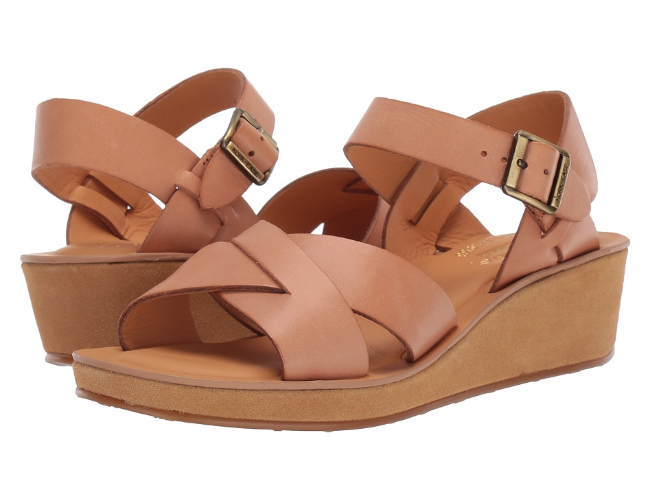 Kork-Ease Myrna Vacchetta (Natural) Wedge Shoes