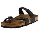 Birkenstock - Mayari (Black Birko-Flor) - Footwear, Sandals, Womens, Wide Fit, Wide Widths