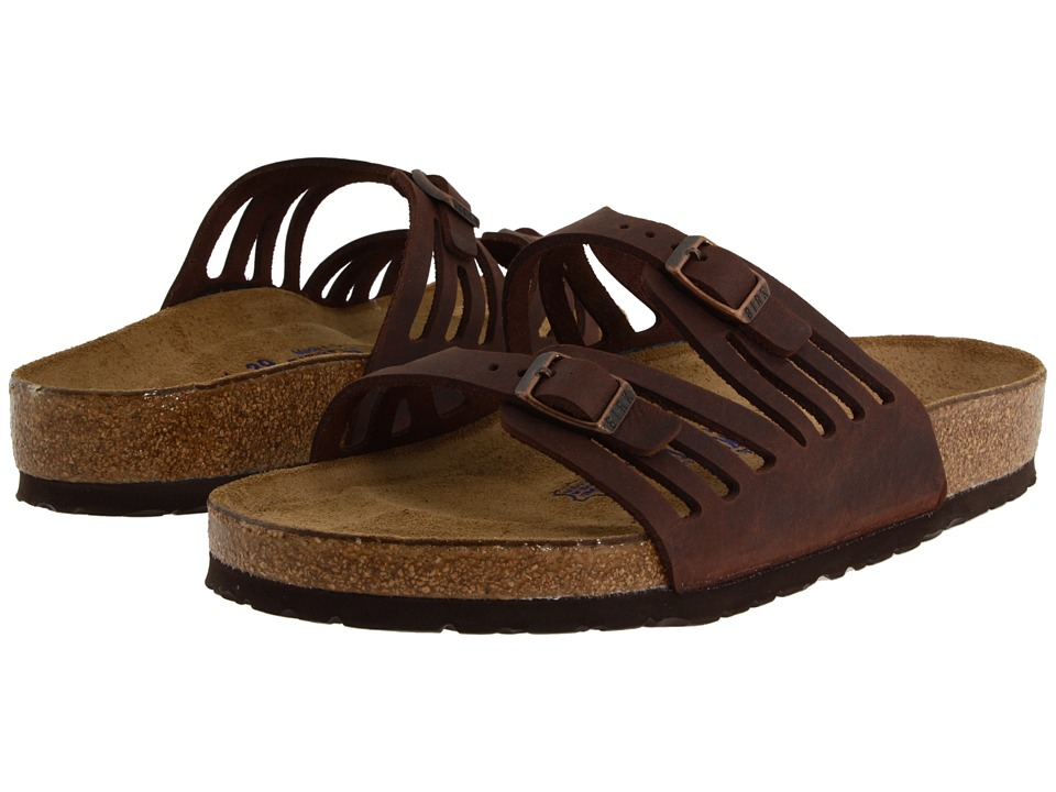 Birkenstock Granada Soft Footbed (Habana Oiled Leather) Women